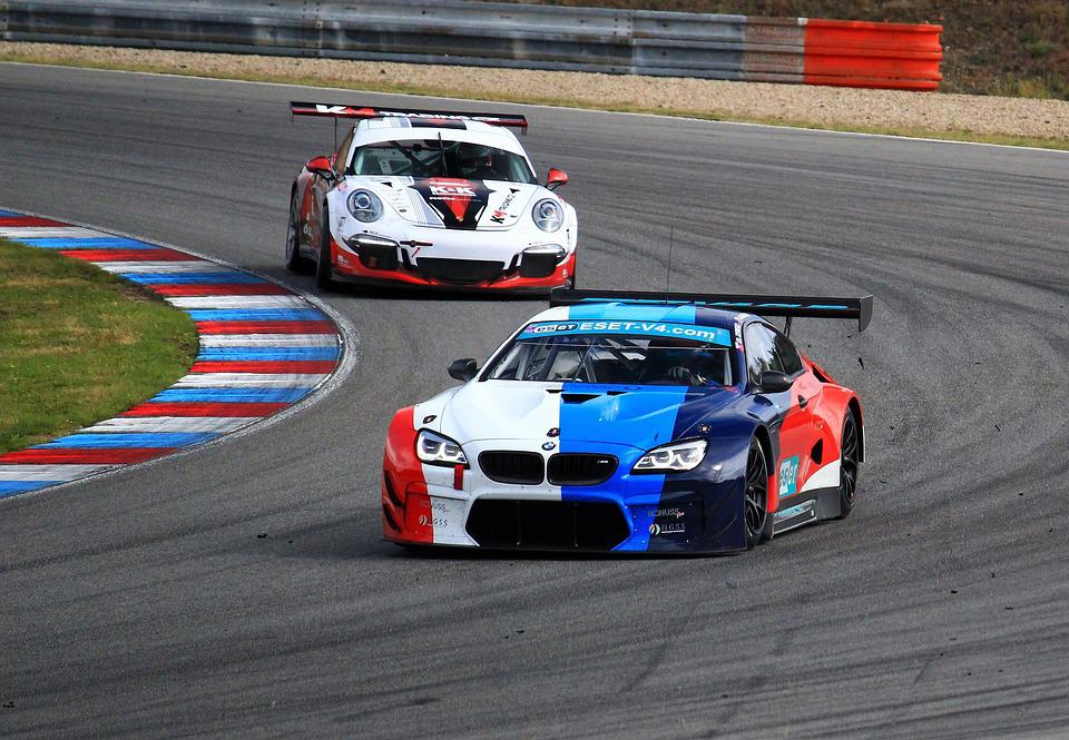 Free Photo Brno Race Track Circuit Gt Bmw Porsche Racing