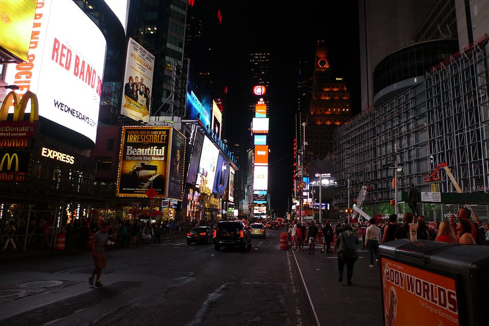 Time Square, New York, Broadway