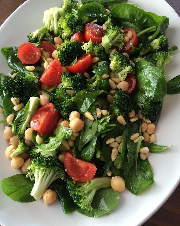 Broccoli, Vegan, Pine Nuts