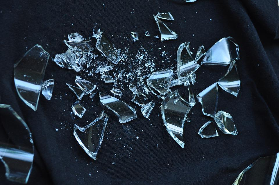 Broken Glass, Shattered, Glass, Broken, Crack, Break