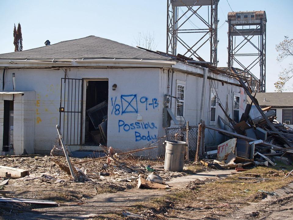 Calamity, Demolition, Dust, Hurricane, Broken