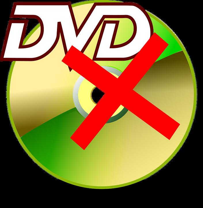 Damaged Dvd, Broken Dvd, Defective Dvd, Dsic