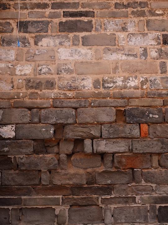 Broken Fall, Wall, Building