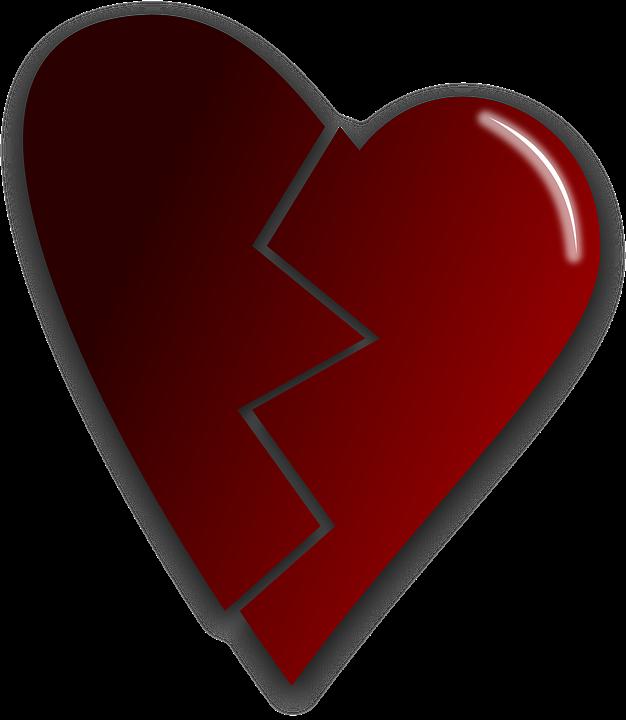 Broken, Heart, Love, Damaged, Broken Heart
