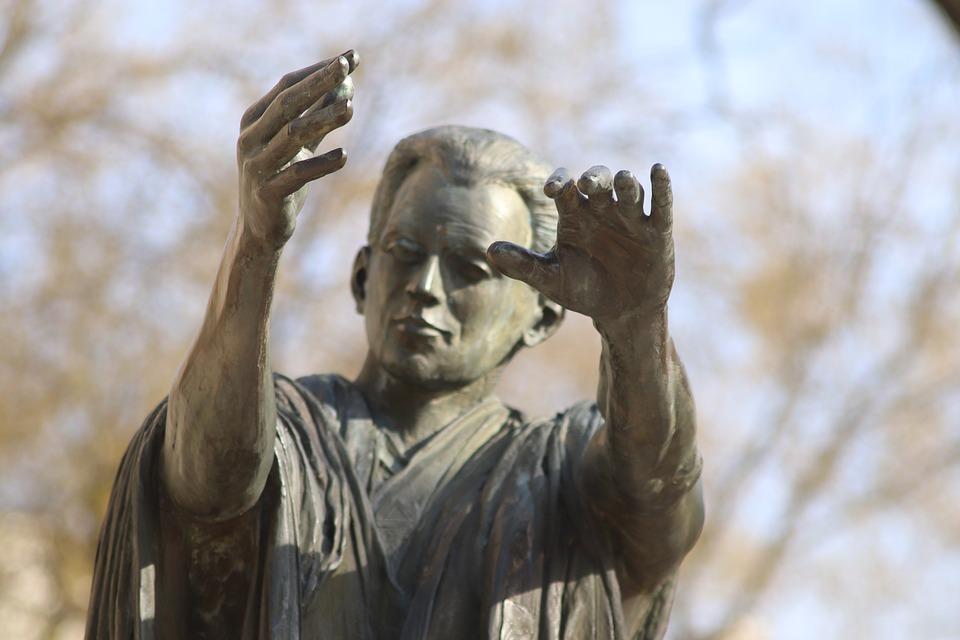 Sculpture, Statue, Bronze, Figure, Face, Artwork