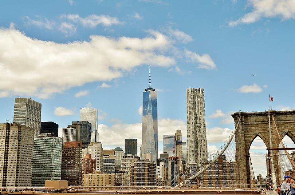 Bridge, Manhattan, Brooklyn, New York, Architecture