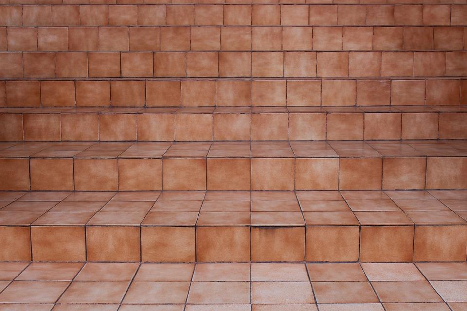 Free photo Brown Ceramic Ceramic Tiles Steps Pattern Tile - Max Pixel