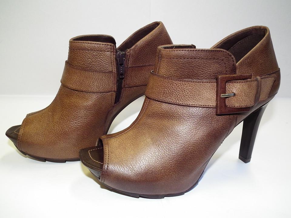 Footwear, Shoes, Female, Sets, Feet, Brown