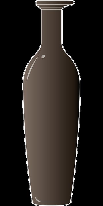 Brown, Glass, Bottle, Jar