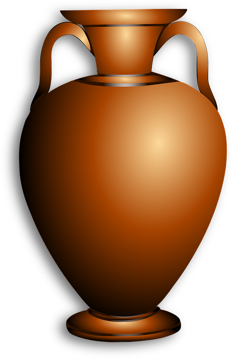 Amphora, Brown, Greek, Antique, Vase, Container