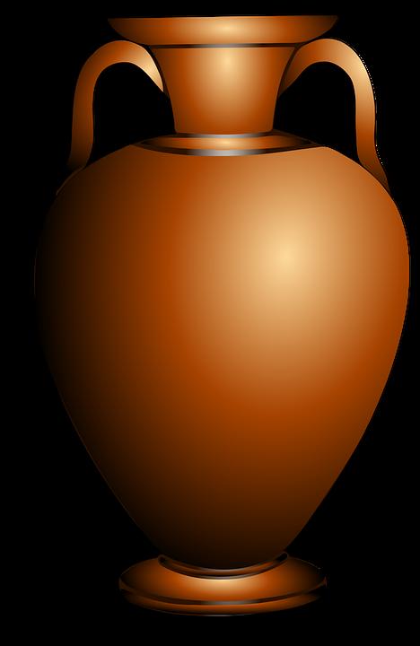Amphora, Brown, Greek, Antique, Vase, Container