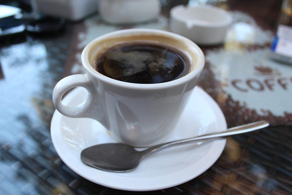 Cup, Spoon, Coffee, Drink, Cafe, Espresso, Hot, Brown