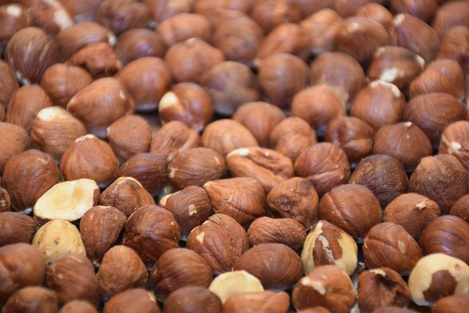 Hazelnut, Peanut, Nut, Filbert, Cob Nut, Hazel, Brown