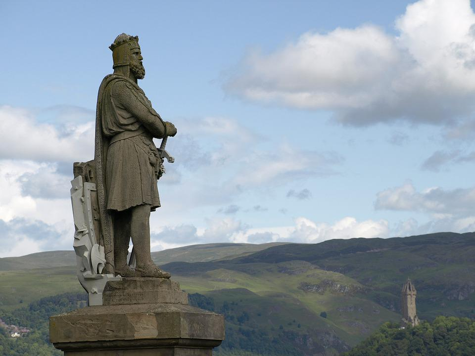 Scotland, Statue, Robert, Bruce, King, Wallace