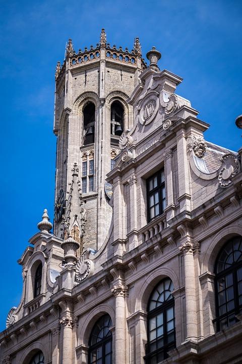 Monument, Bruges, Belgium, Building, Century