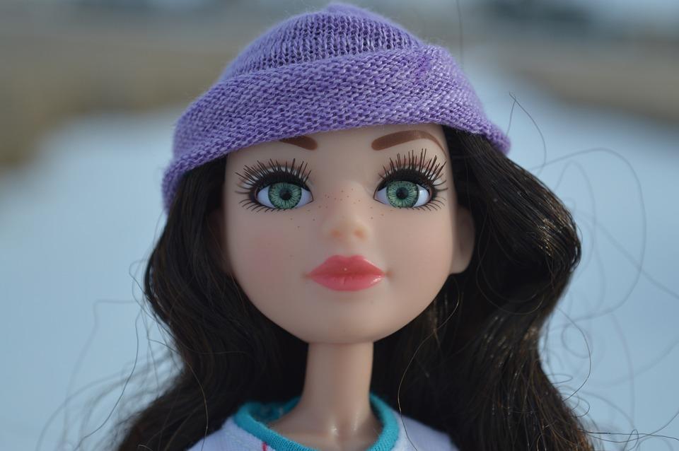 Face, Doll, Brunette, Toy, Hat, Hair, Eyes, Portrait