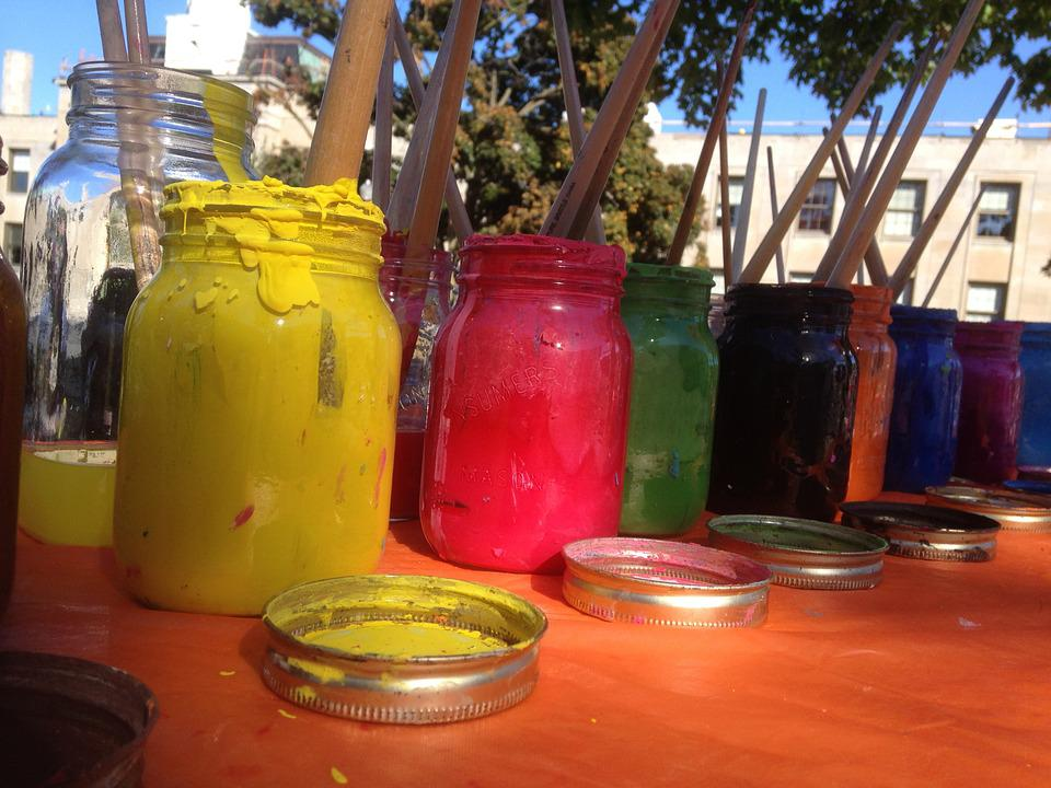 Paint, Outside, Colorful, Creative, Fun, Brush, Color
