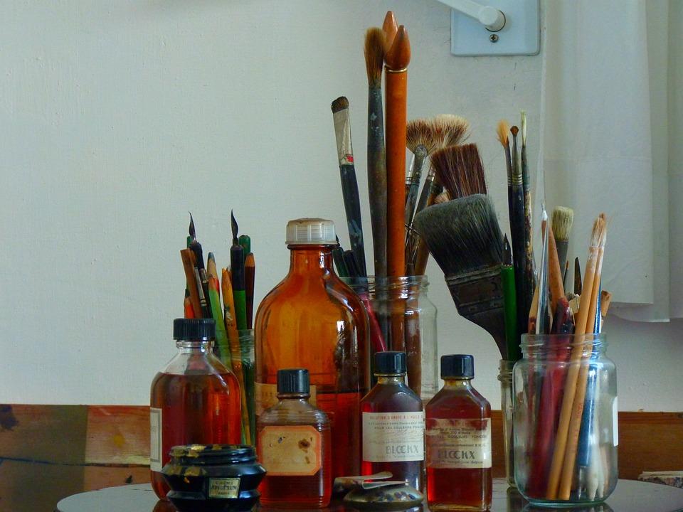 Brush, Color, Pens, Paint, Colorful