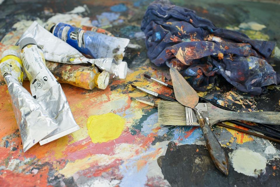 Painter, Paint, Desktop, Artist, Brush, Spatial, Work