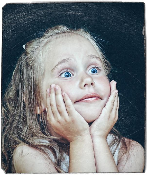 Portrait, Girl, Figure, Eyes, Brush, Delight, Blonde