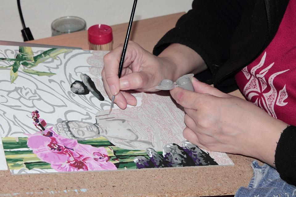 Painter, Painting, Brush, Draw, Person, Human, Artist