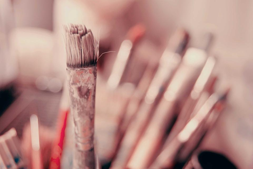 Brush, The Art Of, Painting, Vacations, Painter