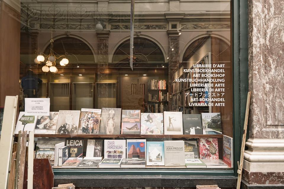 Brussels, Europe, Belgium, Bruxelles, Shop, Books