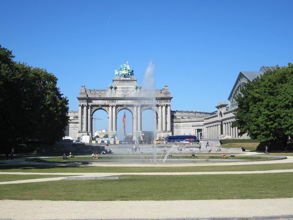 Brussels, Fountain, Belgium, Goal, Monument