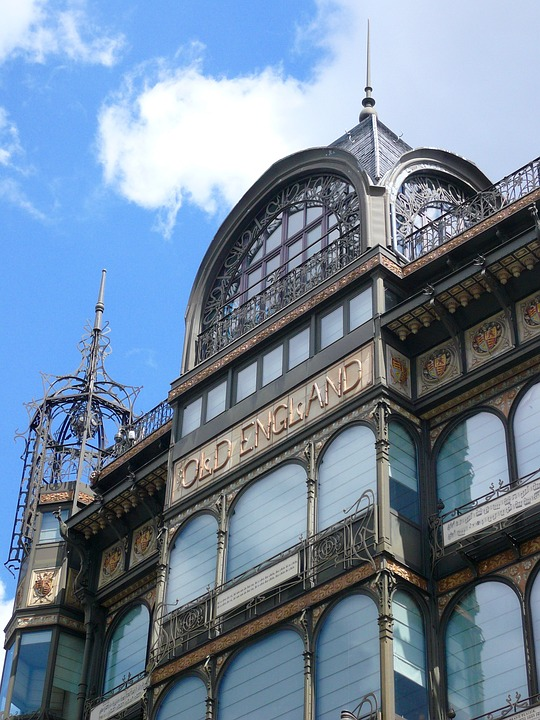 Brussels, Architecture, Building, Old England, Belgium