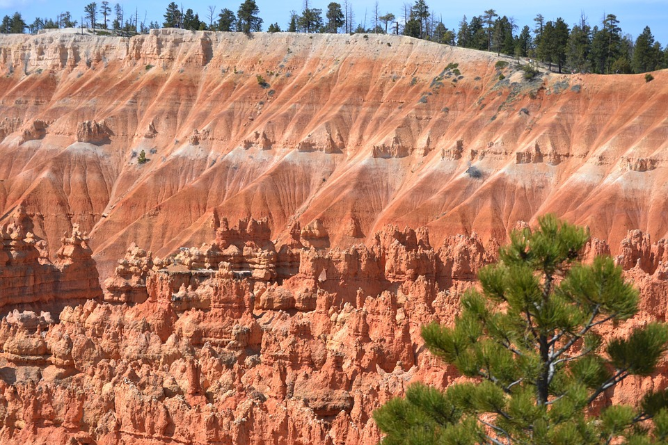 Bryce Canion, Bryce Canyon, Scenery, National Park, Usa