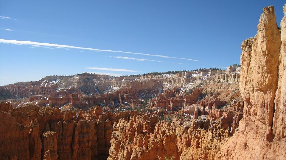 Bryce Canyon, Sand Stone, Erosion, National Park, Usa