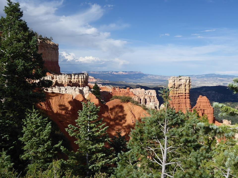 Canyon, Bryce, United States, Landscape, Tourist Site
