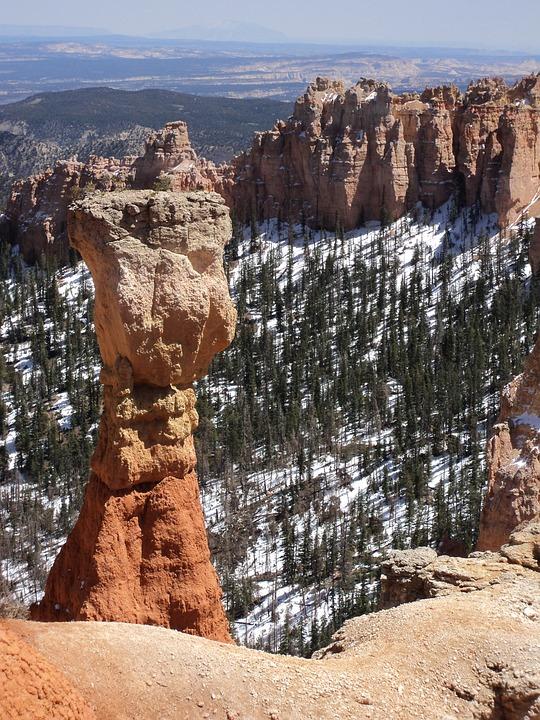 Bryce Canyon, Scenic, Canyon, Landscape, Nature, Bryce
