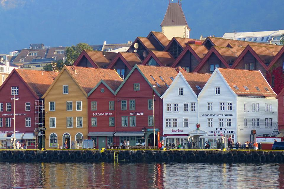 Bergen, Bryggene, Norway
