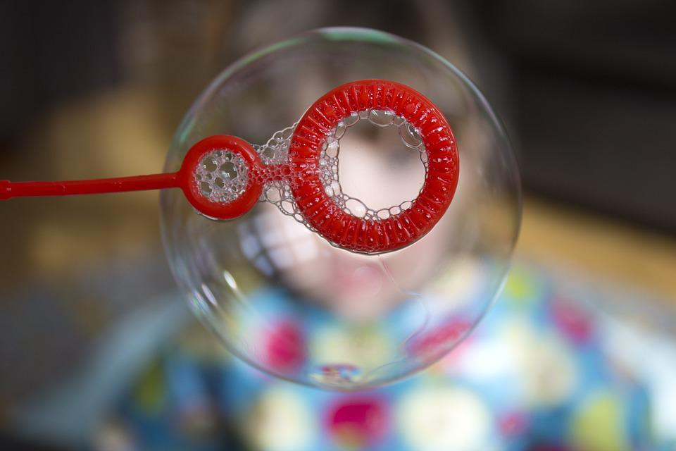 Soap Bubble, Bubble, Playing, Child, Blowing, Fun, Play