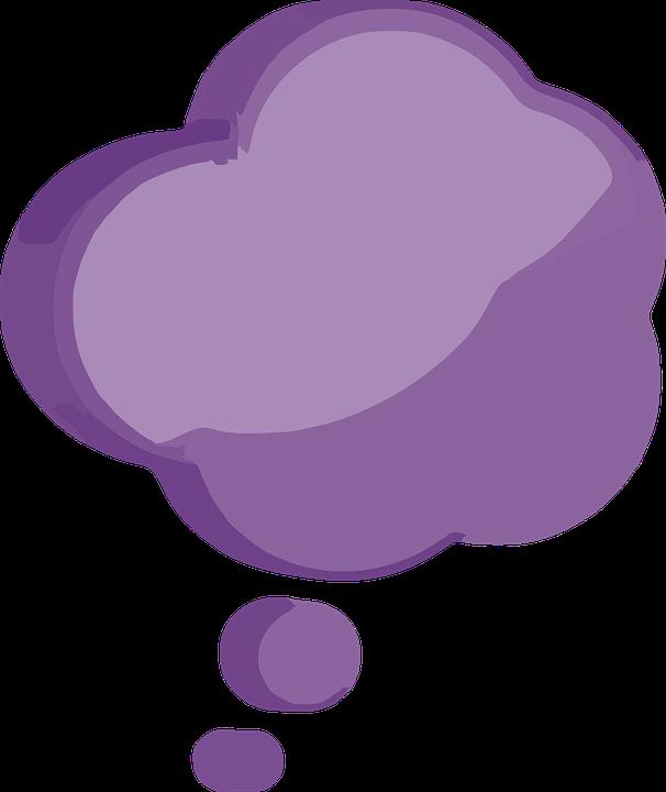Thinking, Cloud, Bubble, Idea, Shape, Balloon, Symbol