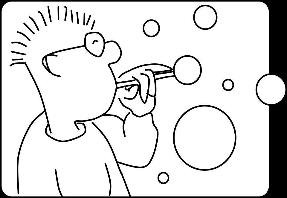 Soap-bubbles, Soap Bubbles, Bubbles, Soap Spectacles