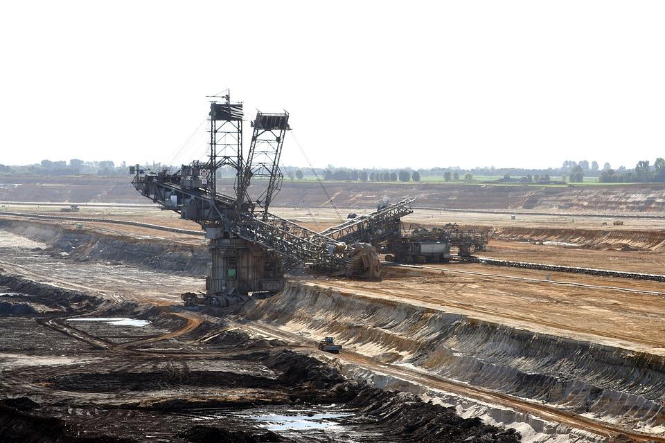 Brown Coal, Open Pit Mining, Bucket Wheel Excavators