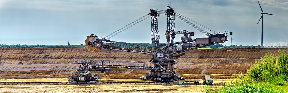 Excavators, Bucket Wheel Excavators, Open Pit Mining