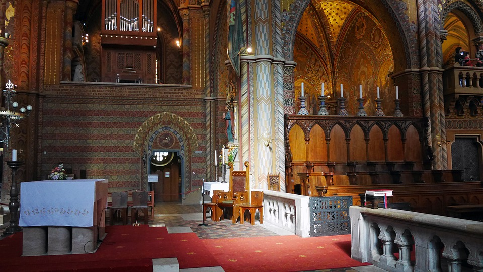 Budapest, Buda Castle, Architecture, Matthias Church