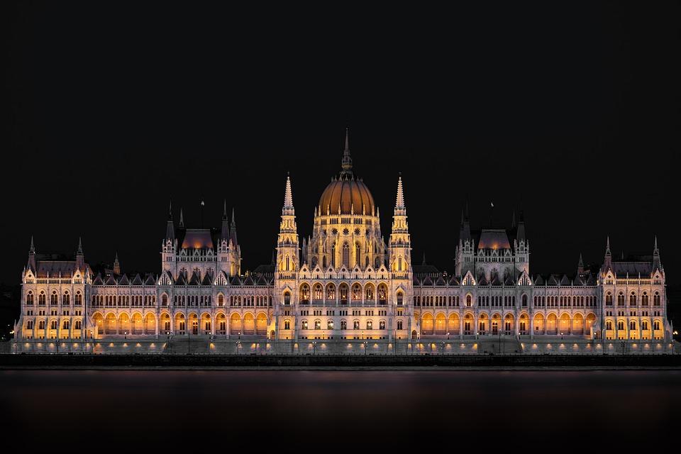 Budapest, Parliament, Hungary, Danube, Architecture
