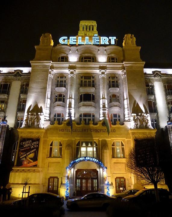 Budapest, Hungary, Gellert, Hotel, Building