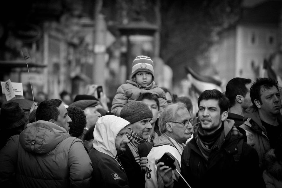 Budapest, Hungary, Demonstration, Hungarian, Magyar