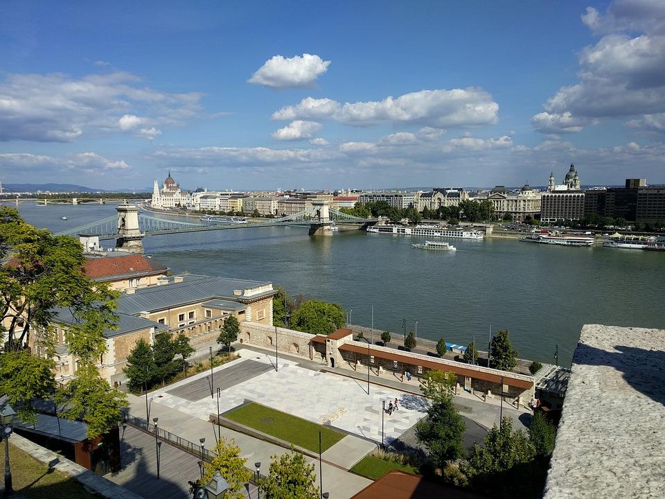 Danube, View, Budapest