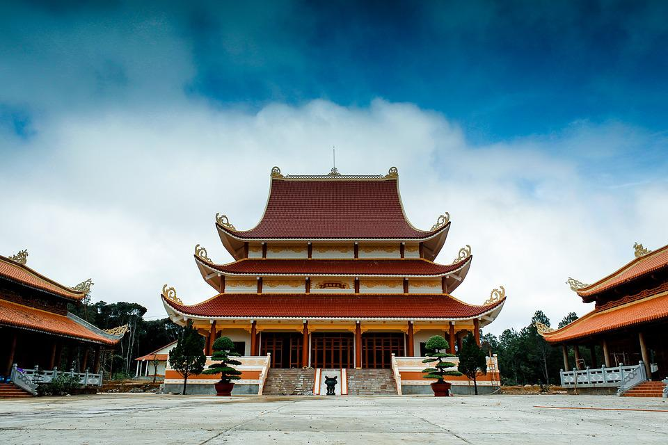 Pagoda, Budd, Buddhism, Temple, Asia, Travel