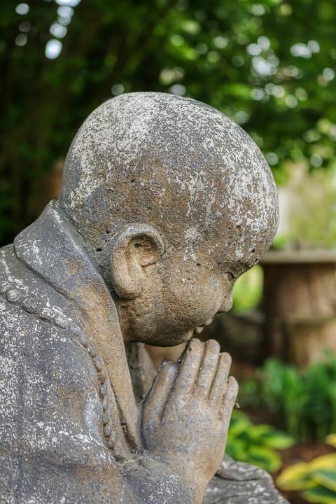Bald Head, Budha, Religion, Statue, Buddhism, Budda