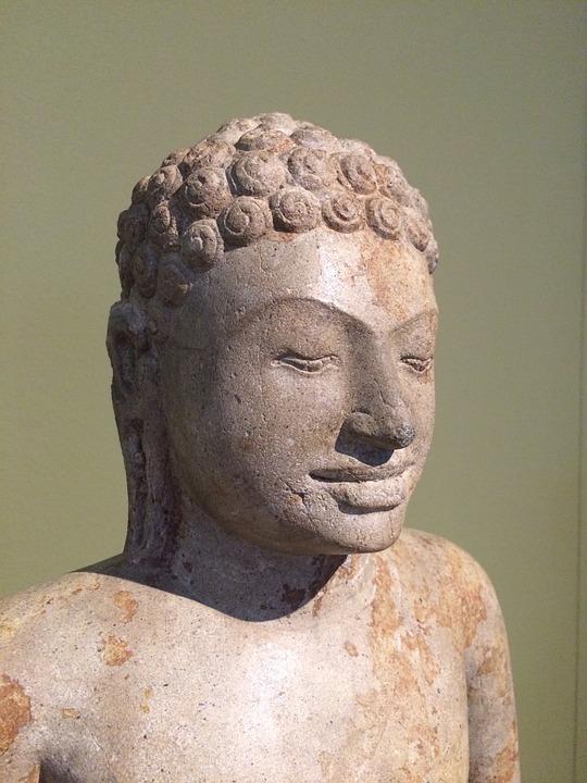 Buddha, Art, Sculpture, Museum