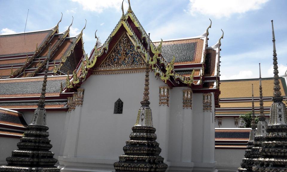 Thailand, Temple, Asia, Buddha