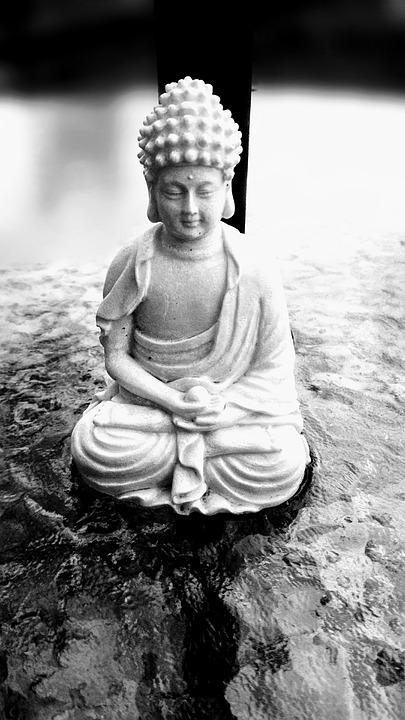 Black, White, Buddha