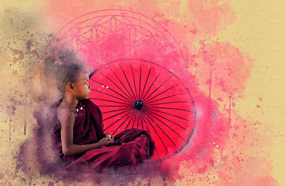 Buddha, Flower Of Life, Meditation, Spiritual, Buddhism